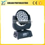 movingheads wash dental material pantalla led china bose 36pcs Full-color LED Slient Moving Head Light