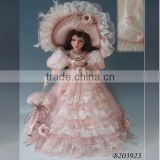 Wholesale porcelain dolls 20inch promotion doll