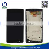for lg spirit 4g h440n lcd , touch screen digitizer with frame for lg h440