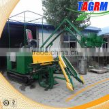 USA White hydraulic system sugar cane harvesting machine with top leaves cutting function for sale