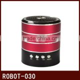 Robot-030 vibration portable mini speaker,active powered Sound box,usb portable speaker sd card