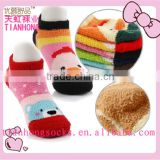 lastest style hot sale thick towel kids boat socks