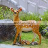 life size deer statues for outdoor decoration