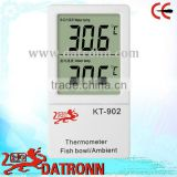 Fish tank lcd digital thermometer/ small digital thermometer/ aquarium thermometer KT902