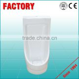 Ceramic portable urinal can mounted wall stall urinal hotel school used urinal sensor price