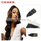 Lace Frontal Piece Loose Wave Human Hair, 7A Top Grade Lace Frontal, Lace Closure With Baby Hair #1B Off Black