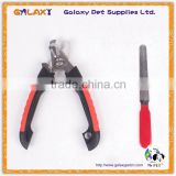 T3621 China pet supplies factory manufacturers stainless steel pet grooming scissors dog nail clippers