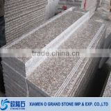 Peach Red G687 Stairs outdoor granite steps stones