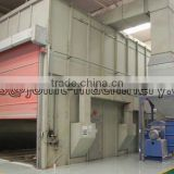 abrasive cleaning room/ sand blasting booth xdl series for surface cleaning with high quality in china