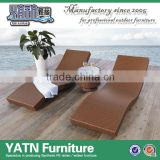 Outdoor fold up moon lounge chair bed
