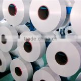 Polyester yarn POY with premium processability and dimensional stability for weaving and knitting