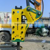 Rod diameter 135mm Sparkle excavator hammer for cat komatsu hitachi case 20tons excavator in rock demolition