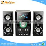 2013 new model touch control screen 2.1 home theater multimedia audio active mini speaker with