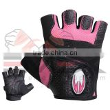Ladies/Women Weight Lifting Gloves, Sports Gloves, Artificial/Synthetic Leather Weight Lifting Gloves, Nylon/Polyester Gloves
