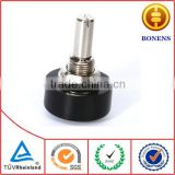 WDJ22 Precision plastic conductive potentiometer,360 degree endless precision rotary potentiometer