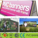 advertisment use pvc printed tarpaulin sheet t ,pvc flex banner fabric