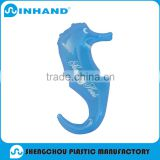 inflatable animal toys/PVC Inflatable Blue Hippocampus Toy For Baby/giant inflatable water toys/