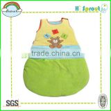 Colorful Velvet Baby Sleeping Wear Winter Use
