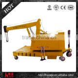 5t Small Mini Mobile Jib Crane with Wheels