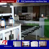 Full&Semi Automatic laminated pvc sheet pvc laminated ceiling board making machine production line
