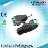 CAT5 to CCTV coaxial Camere BNC male Video Balun connector