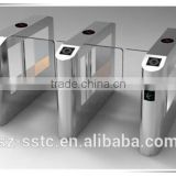 Building access control swing barrier half height swing door for bank