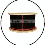 2.50mm*8.00mm insulated aluminum wire,wind generator coil winding,corona wire,electric wire color