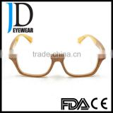 China wholesale real horn glasses frames clear lens buffalo horn optical frames eyeglasses for men