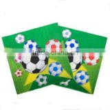 wholesale Football Party Napkins- Boys Birthday/Football Party Supplies- Birthday Parties
