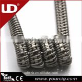 new arrivals 2016 UD clapton coil wire Staple staggered fused clapton coils/stagger fused clapton coils for RDA MOD