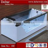 huge massage bathtub, water air massage whirlpool bathtub price, sitting bathtub glass two side