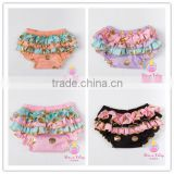 Gold pot newborn girls tutu skirt bloomers Fashion infant chiffon disper baby bloomers wholesale