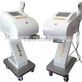 High Frequency Portable Facial Machine USA Medical Hifu Soft ( High Intensity Focused Ultrasound) Portable Face Lifting Hifu Ultrasound Machine Fatty Removal Under Cheek And Chin Portable