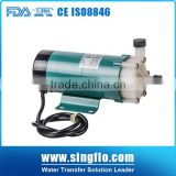 2016 Hot sales mini industrial magnetic pumps/chemical pump