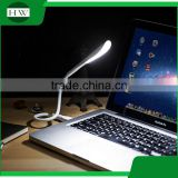 plastic mini portable folding foldable eye protection soft switch usb led touch lamp light with three intensity levels