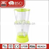 New Christmas plastic cold drinks beer juicer water dispenser beverage dispenser