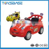 6V kids ride on remote control power electric hengtai baby car toys with flashing light & music