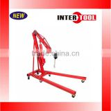 2 Ton Folding Hydraulic Engine Hoist Cherry Picker Shop Crane