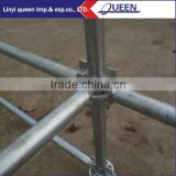 Industrial residential galvanized ring lock scaffoldi&Galvanized Steel Ring Lock Scaffold for Building Construction Step Ladder