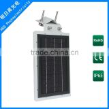 Motion Sensor Led Integrated Solar Street Light All In One street light