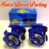 Kids Flash Heel Skates Hot Wheels Skating Shoes Easy-on Roller Skates children flashing roller