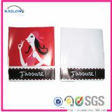 high quality custom soft transparent pvc card holder id card sleeve