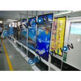 65 inch lcd rotation screen kiosk digital signage