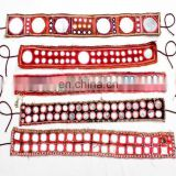 Wholesale Lot Of 5 Banjara Mirror Tribal Ethnic Kuchi Belly Dance Belts