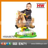 Hot Sale funny baby ride on rocking horse with music rocking horse