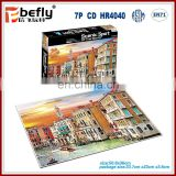 Wholesale cardboard puzzle 500 pieces jigsaw puzzle