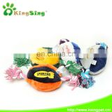 U.S. football cotton rope pet toy/dog toy