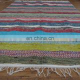 Chindi Rug Rag Handmade Indian Cotton Mat Floor Woven Rug