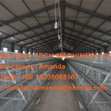 Uruguay Poultry Farm - A Type Battery Broiler Cage System & Meat Chicken Cage with Automatic Manure Clean Machine