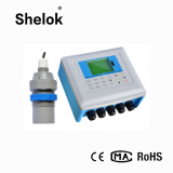 Open channel sewage embedded ultrasonic flow meter water